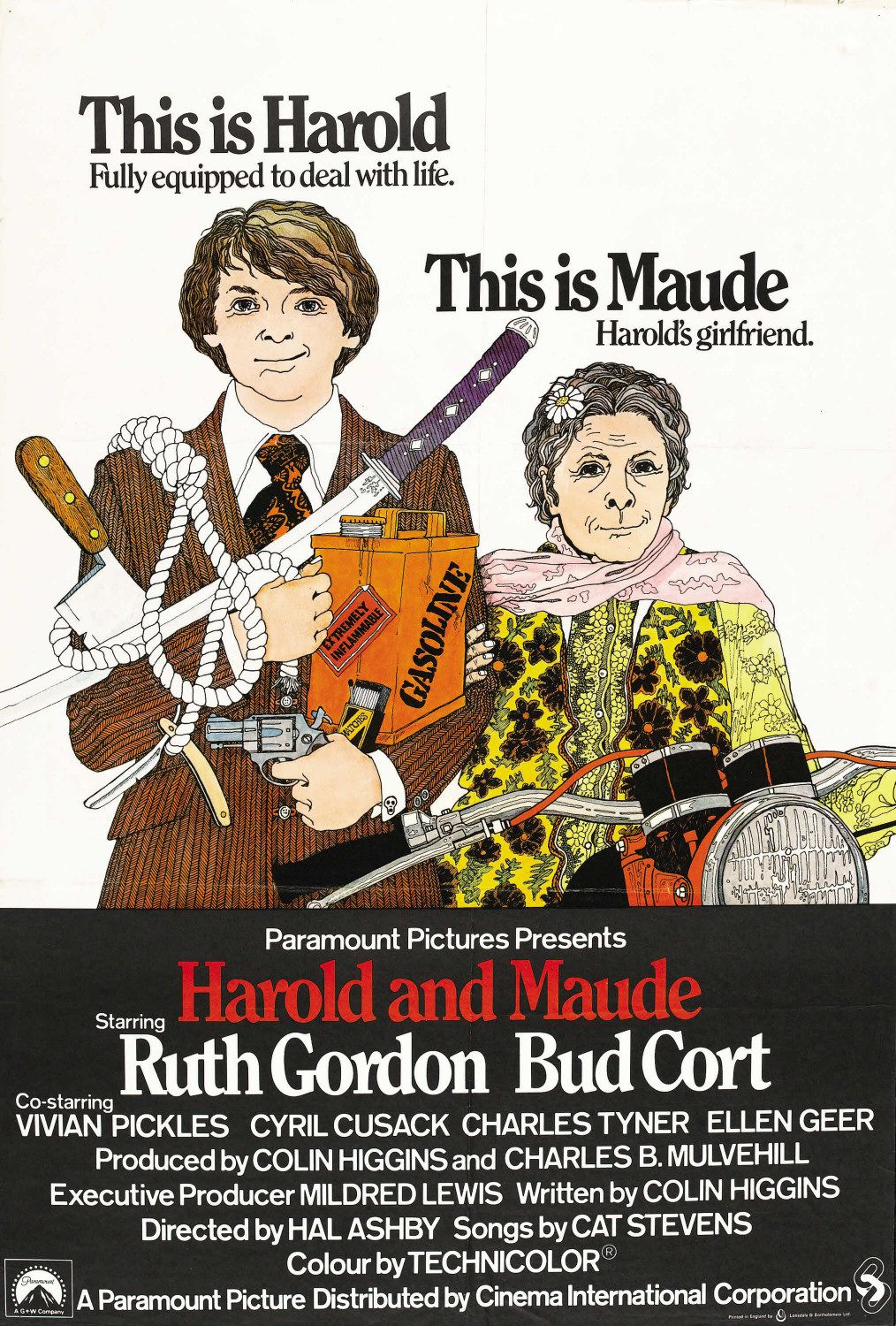 an analysis of the movie harold and maude Want music and videos with zero ads get youtube red.